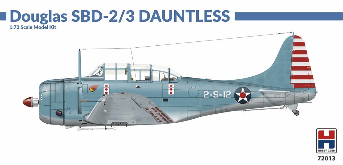 1/72 Douglas SBD 2/3 Dauntless