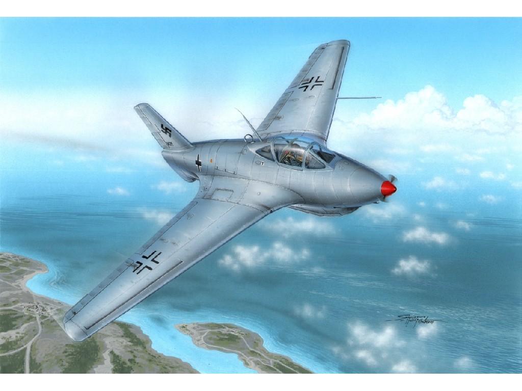 1/72 Messerschmitt Me 163C Prototypes