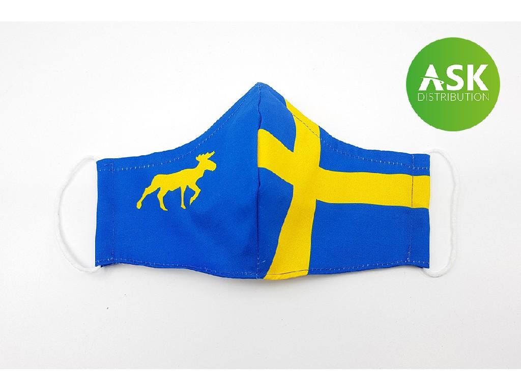 Rouška s kapsou Švédsko