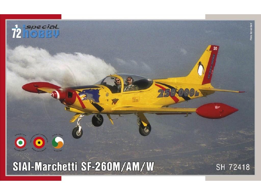 Special Hobby - SH72418 - SIAI Marchetti SF-260M/AM/W 1:72