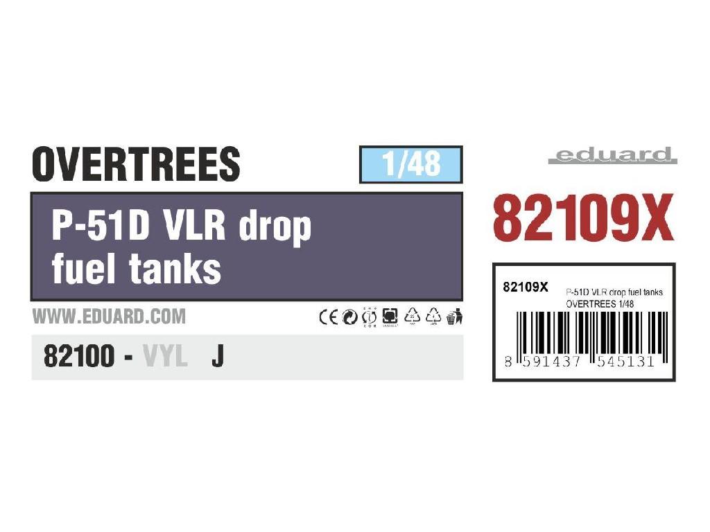 1/48 P-51D VLR drop fuel tanks OVERTREES