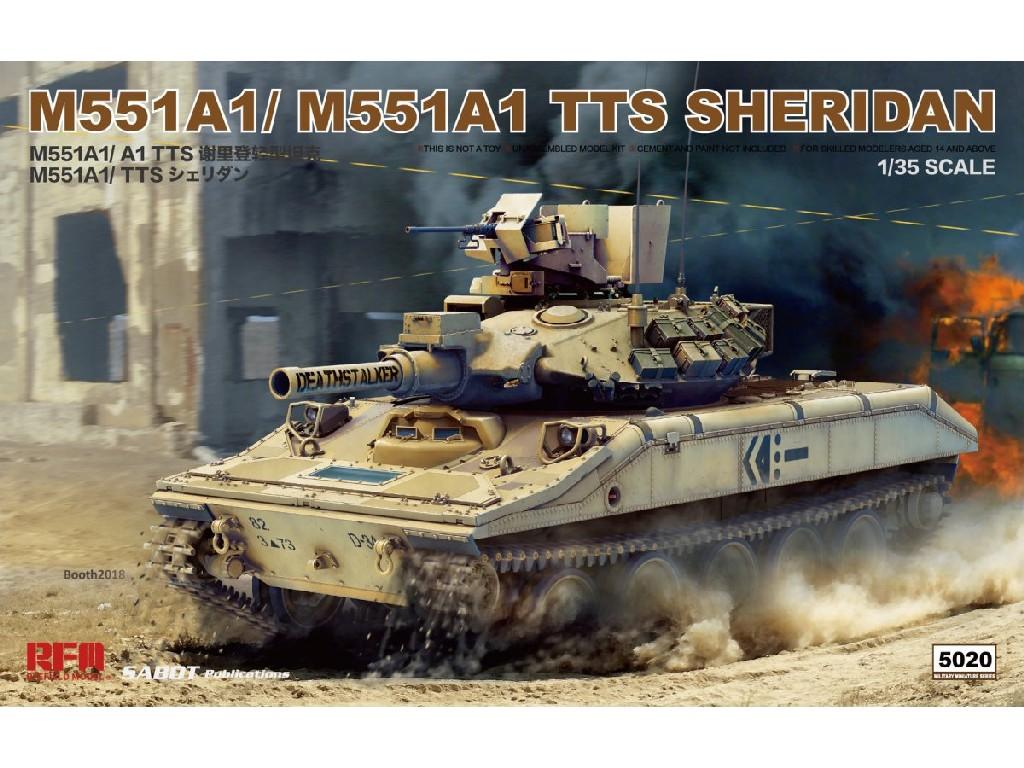 1/35 M551A1/ A1TTS Sheridan