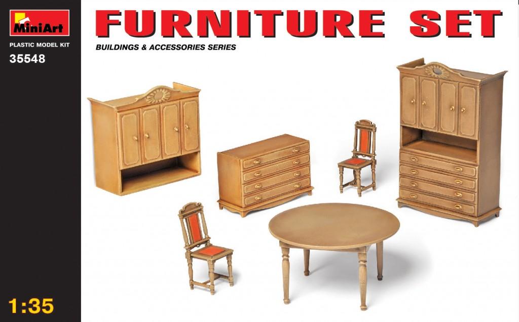 1/35 Furniture Set
