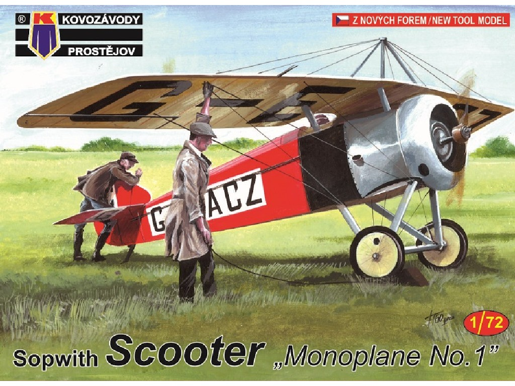 "1/72 Sopwith Scooter ""Monoplane No.1"""