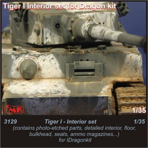 1/35 Tiger I - interior set for Drag.