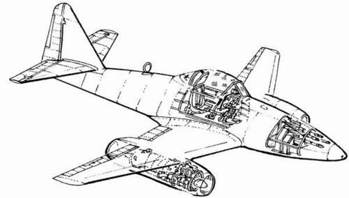 1/72 Me 262A - detail set for REV