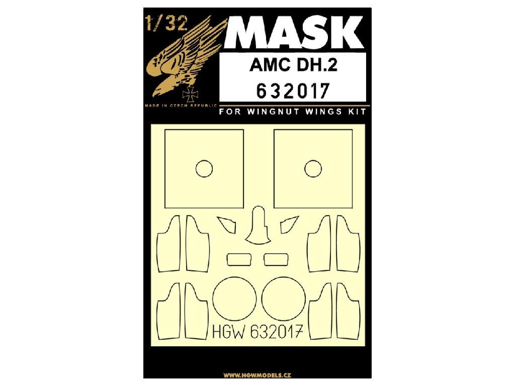 1/32 AMC DH.2 - Masks - Wingnut Wings