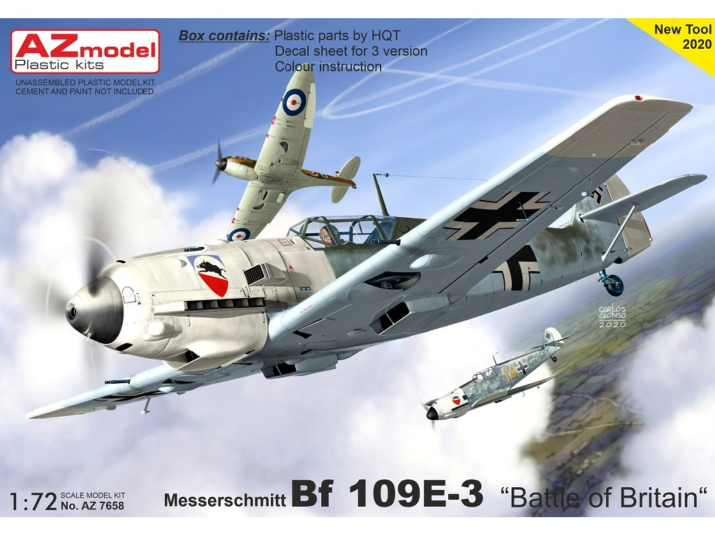 "1/72 Bf 109E-3 ""Battle of Britain"""