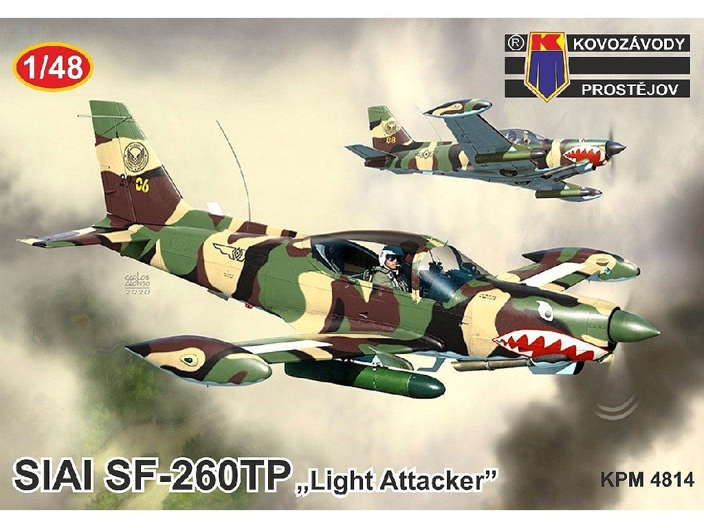 1/48 SIAI SF-260TP Light Attacker