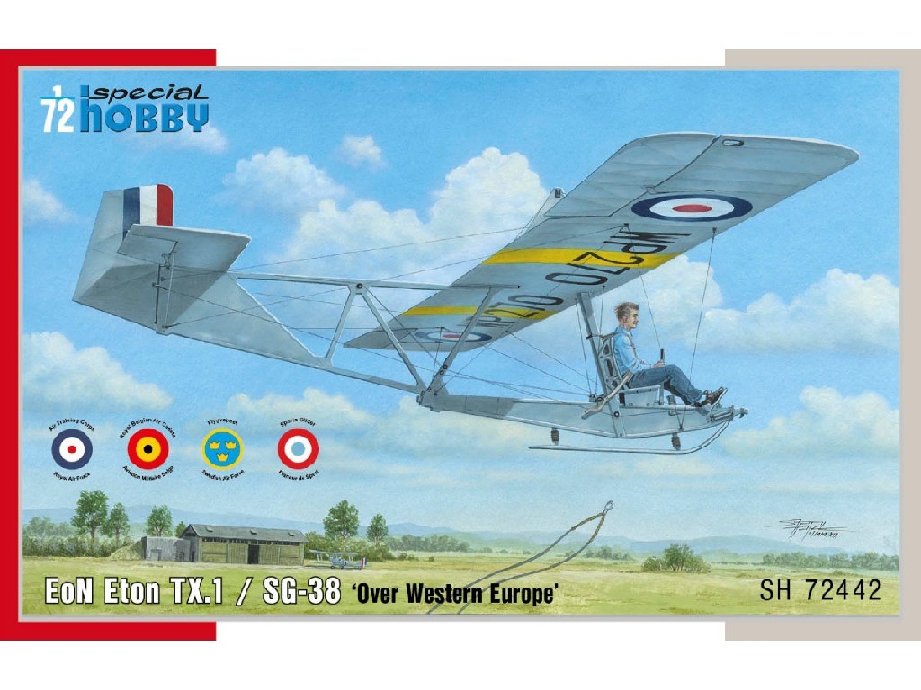 1/72 EoN Eton TX.1 / SG-38 'Over Western Europe'
