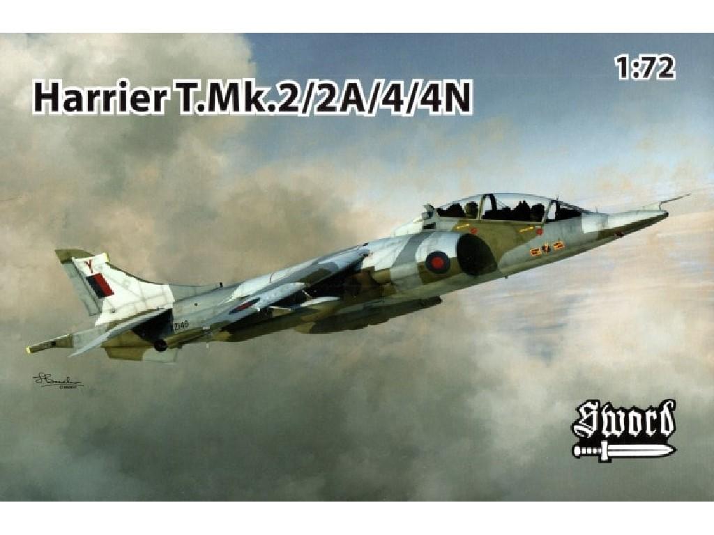 1/72 Harrier T.Mk. 2/2A/4/4N