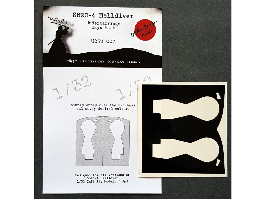 1/32 SB2C-4 Helldiver u/c bays mask