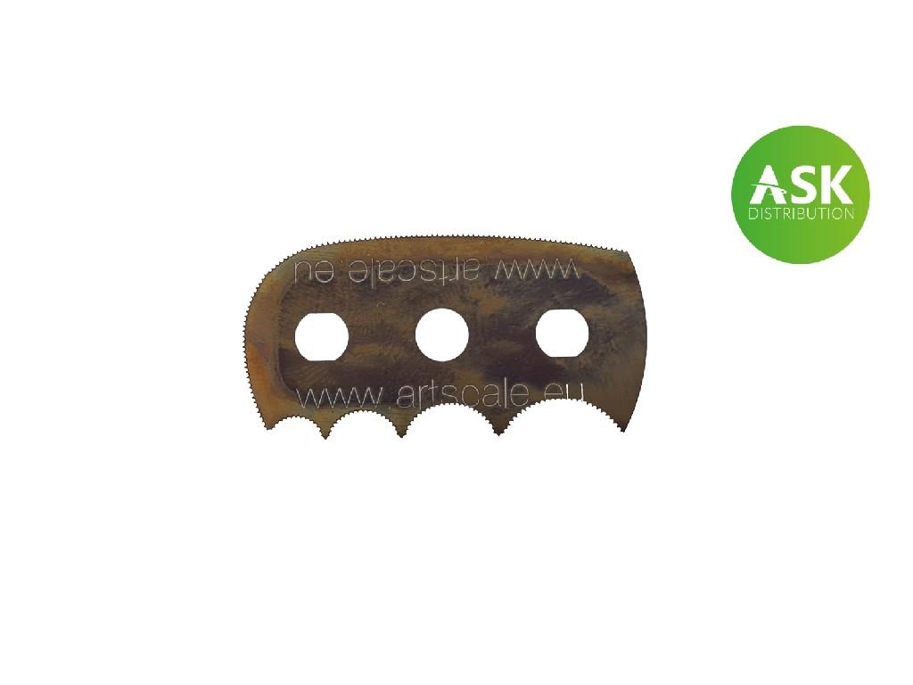 ASK žiletková pilka Barbosa - radiusová pro velmi jemnou práci zubů - 1 ks