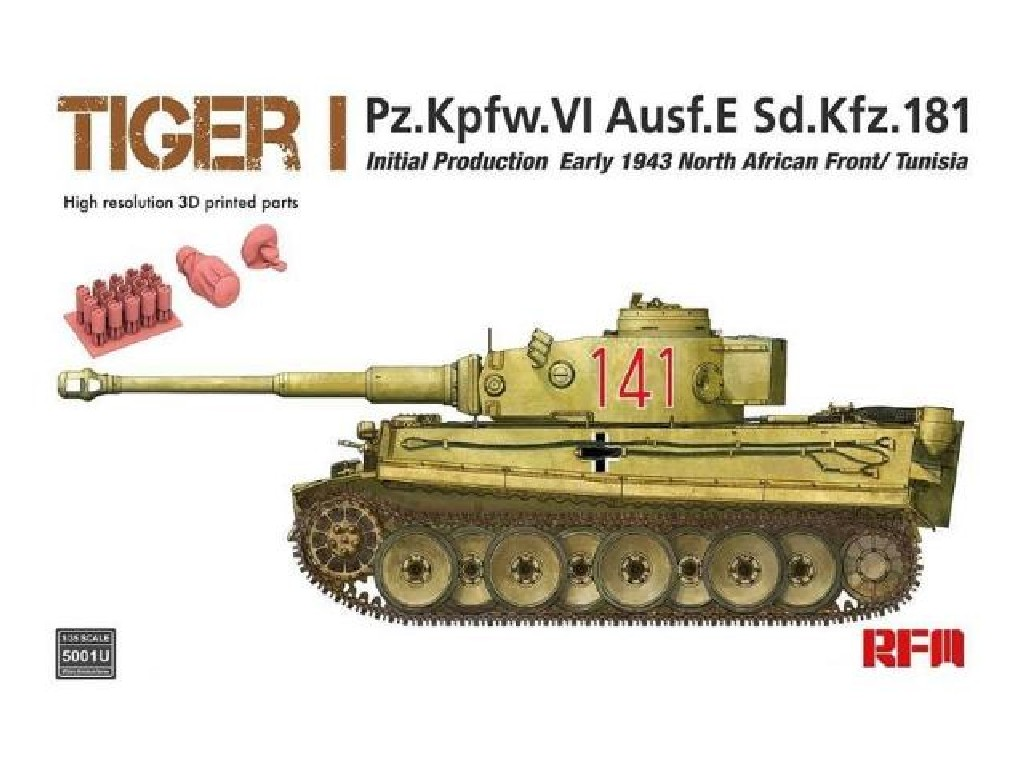 1/35 Tiger I Initial Production Early 1943 North African Front/Tunisia