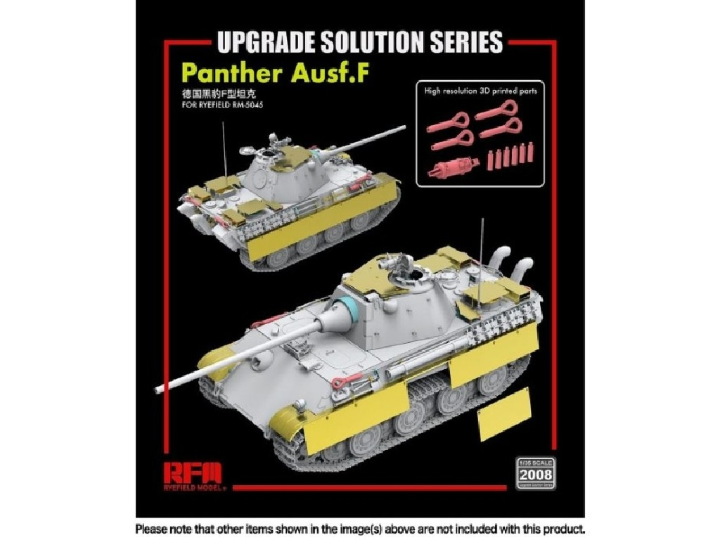 1/35 Upgrade For Panther F Type (for RFM5045)