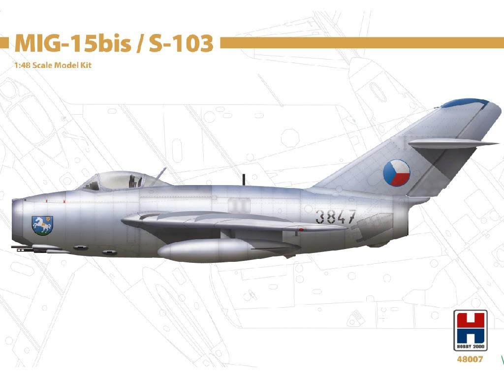 1/48 MIG-15bis / S-103 - Bronco + Cartograf + P-mask