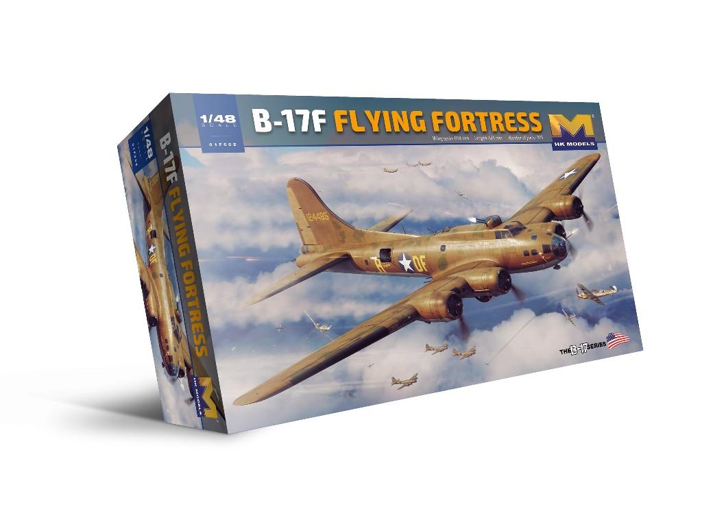 1/48 B-17F Flying Fortress - HK Models