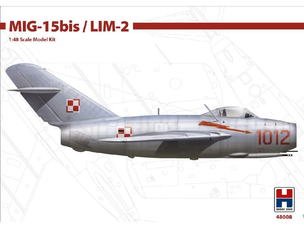 1/48 MIG-15bis / LIM-2 - Bronco + Cartograf + P-mask
