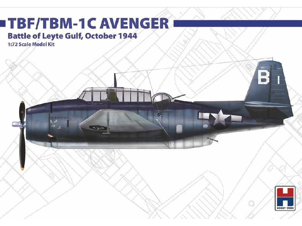 1/72 TBF/TBM-1C Avenger Oct. 1944