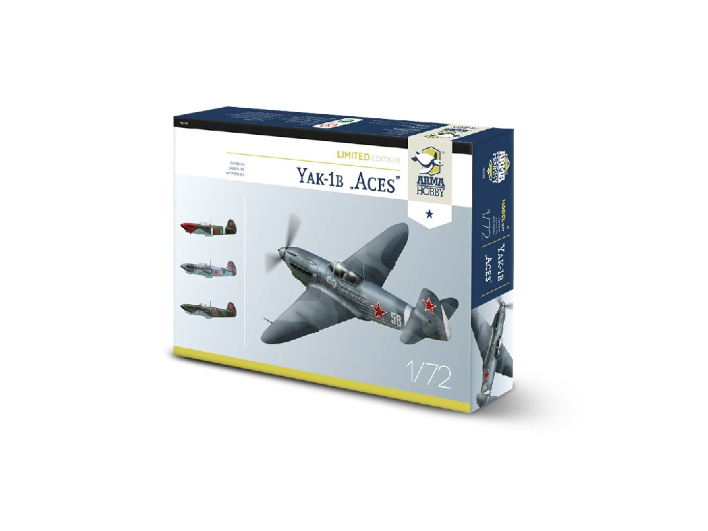 1/72 Yak-1b Aces Limited Edition - Arma Hobby