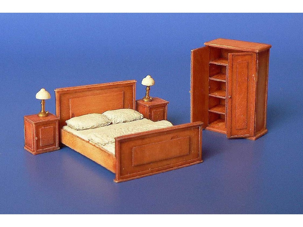 1/72 Bedroom furniture Resin dio set