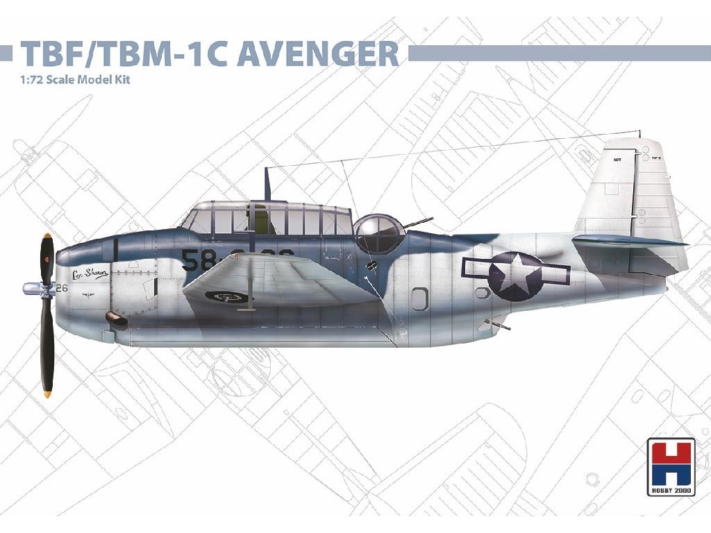 1/72 TBF/TBM-1C Avenger