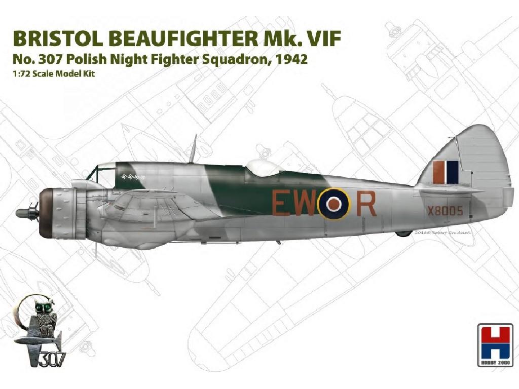 1/72 Beaufighter Mk. VIF 307 Polish Sq