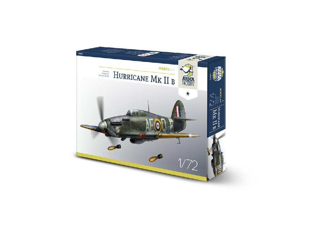 1/72 Hurricane Mk IIb Model Kit - Arma Hobby