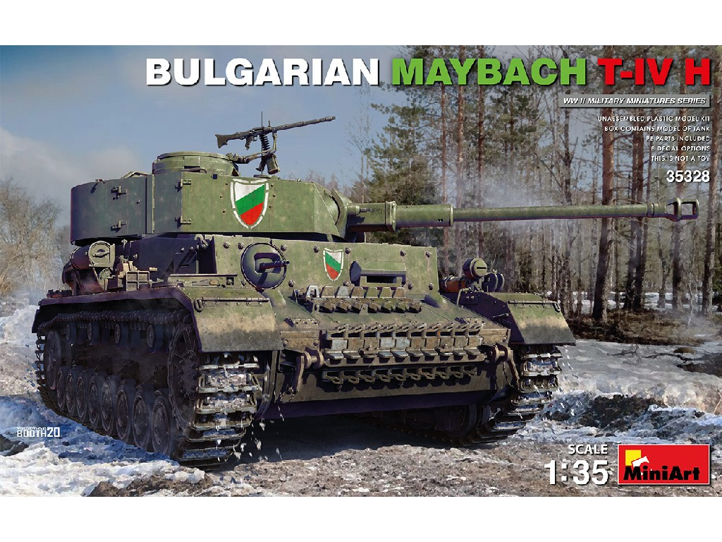 Miniart - 35328 - Bulgarian Maybach T-IV H - Miniart 1:35