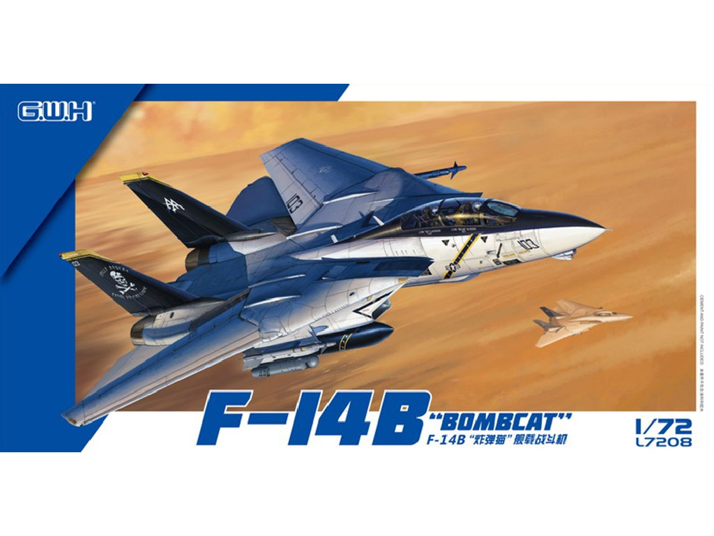 Great Wall Hobby - GWHL7208 - F-14B Bombcat 1:72