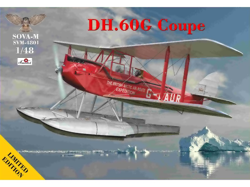 1/48 DH.60G Coupe ( British Polar expedition )