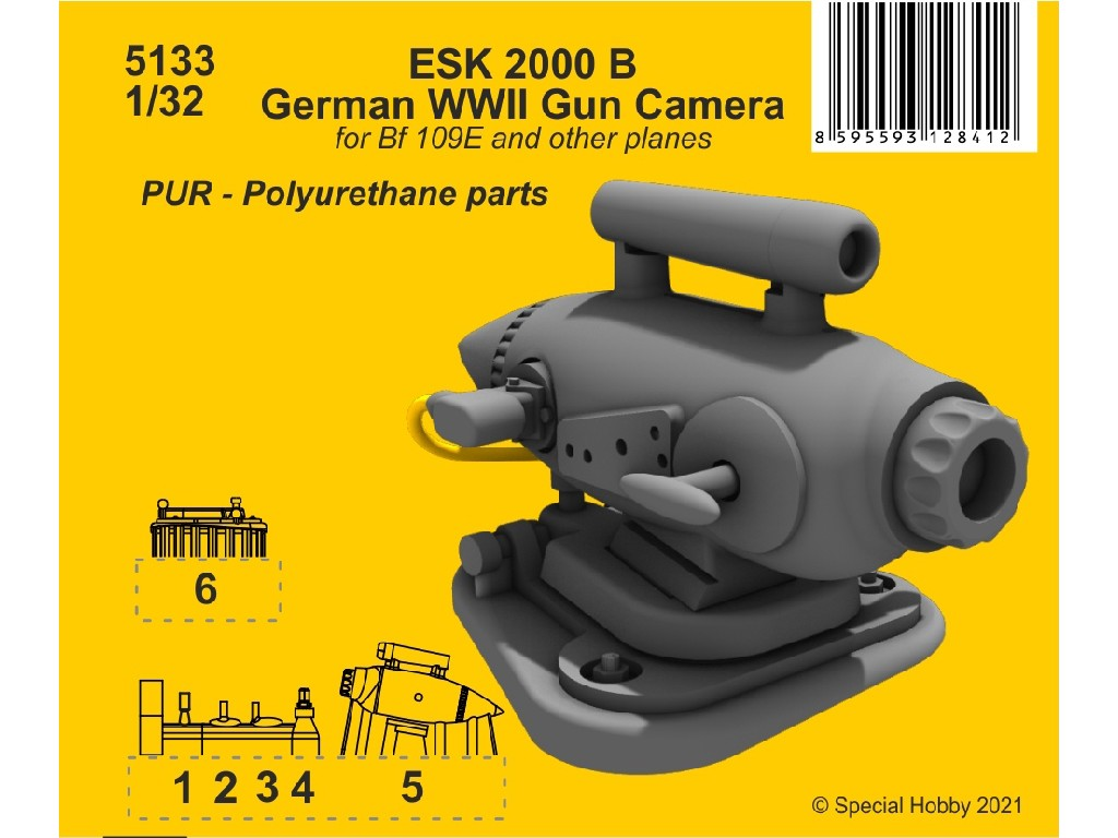 CMK - 5133 - ESK 2000 B German WWII Gun Camera - CMK 1:32