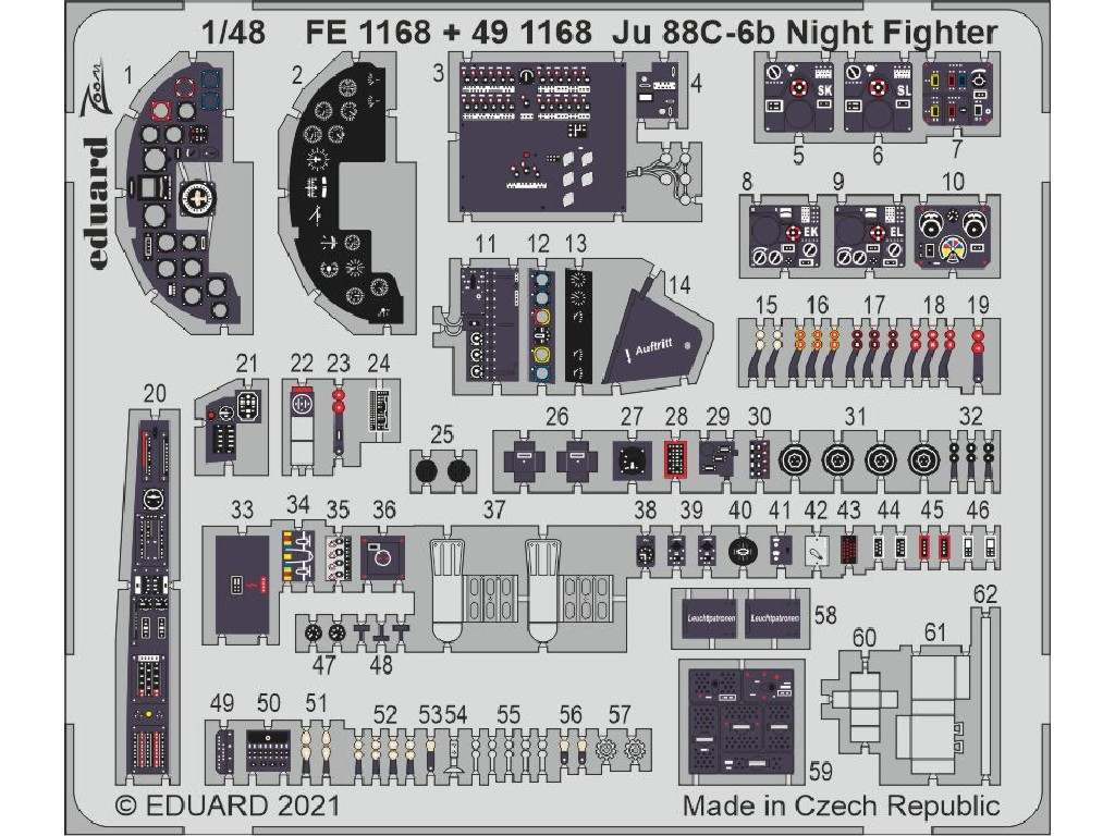 1/48 Ju 88C-6b Night Fighter for ICM kit