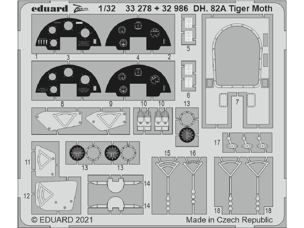 1/32 DH. 82A Tiger Moth for ICM kit