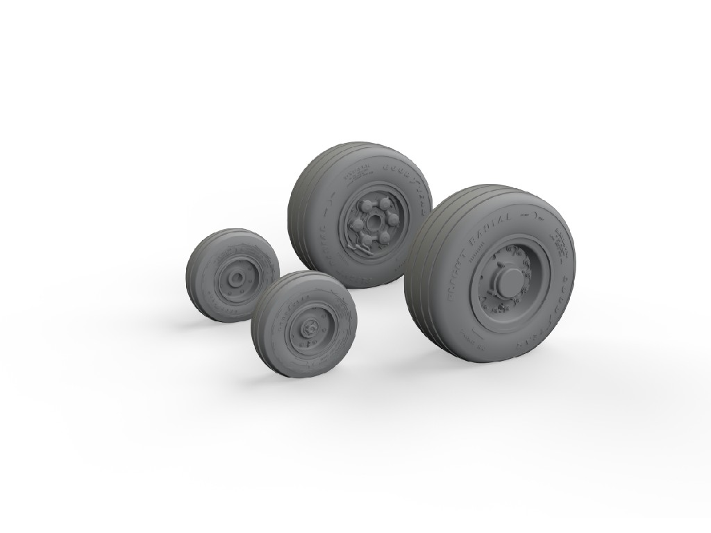 Eduard - 632171 - Tornado GR.4 wheels for Italeri kit 1:32