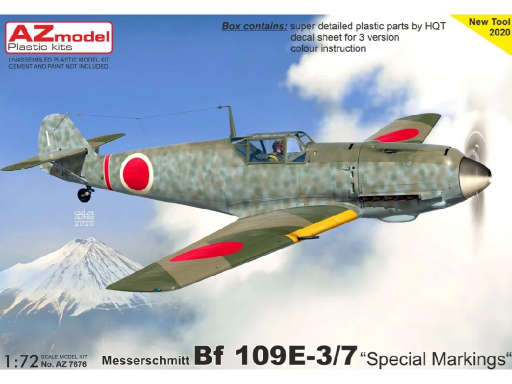 "AZ Model - AZ7676 - Bf 109E-3/7 ""Special Marking"" 1:72"