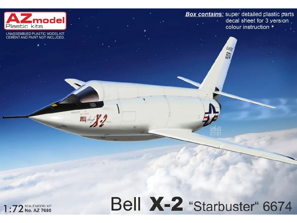 """1/72 Bell X-2 """"Starbuster"""" 6674"""