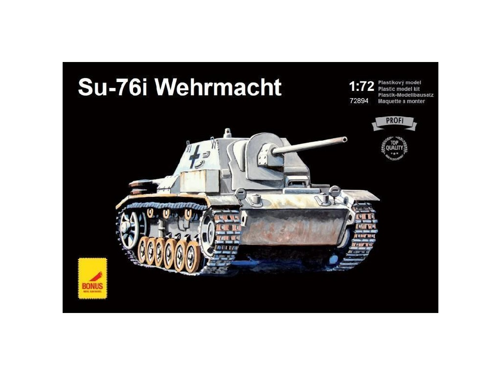 Attack Kits - 72894 - SU-76I Wehrmacht (with metal barrel) 1:72