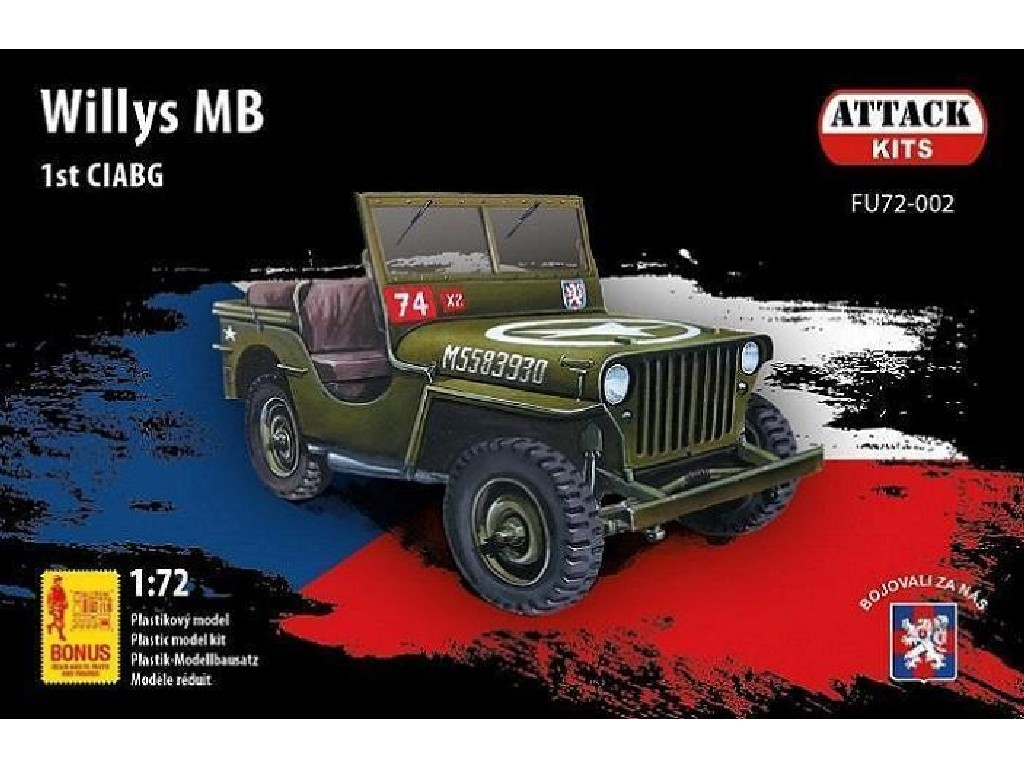 1/72 Willis 1st CIABG (S-model, resin det., PE, decal set)