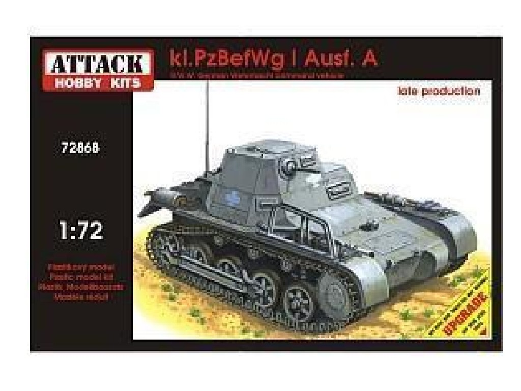 1/72 kl.PzBefWg I Ausf.A