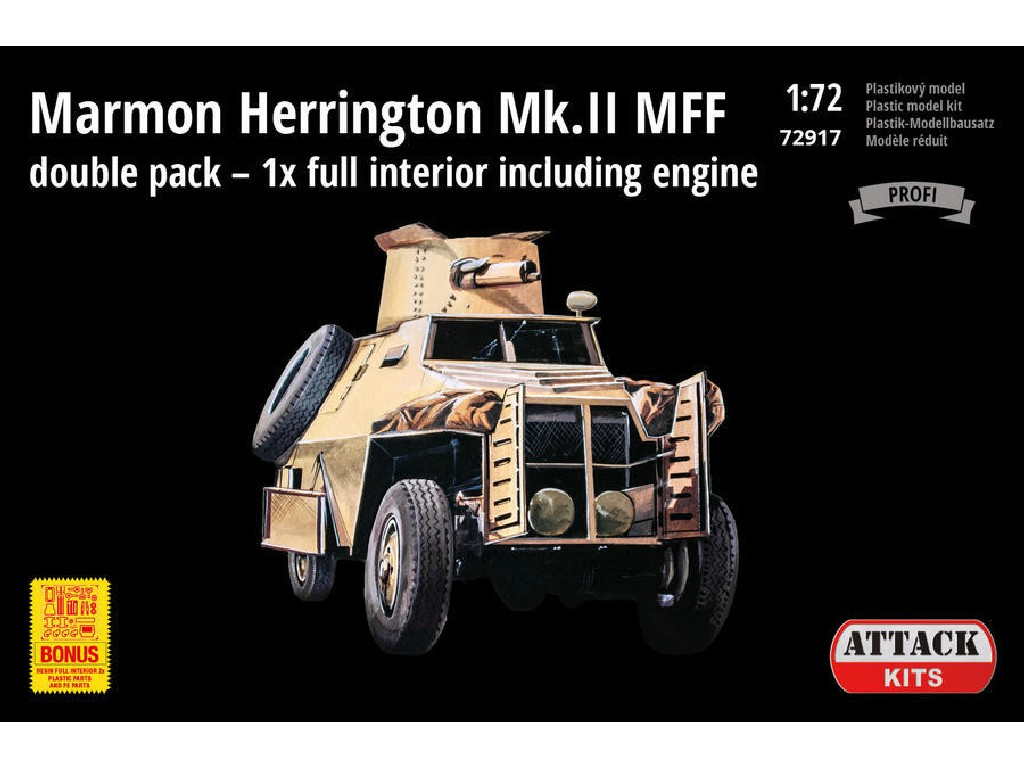 Attack Kits - 72917 - Marmon Herrington Mk.II MFF full interior double pack 1:72