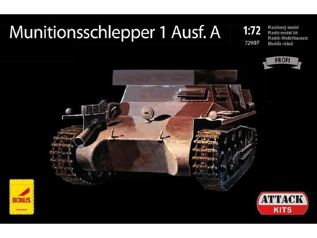 Attack Kits - 72907 - Munitionsschlepper 1 Ausf.A 1:72
