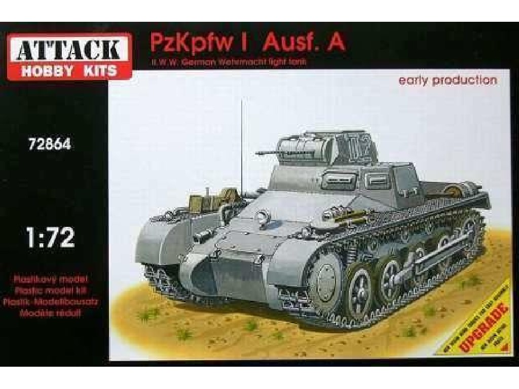 Attack Kits - 72864 - PzKpfw I Ausf. A Early production 1:72