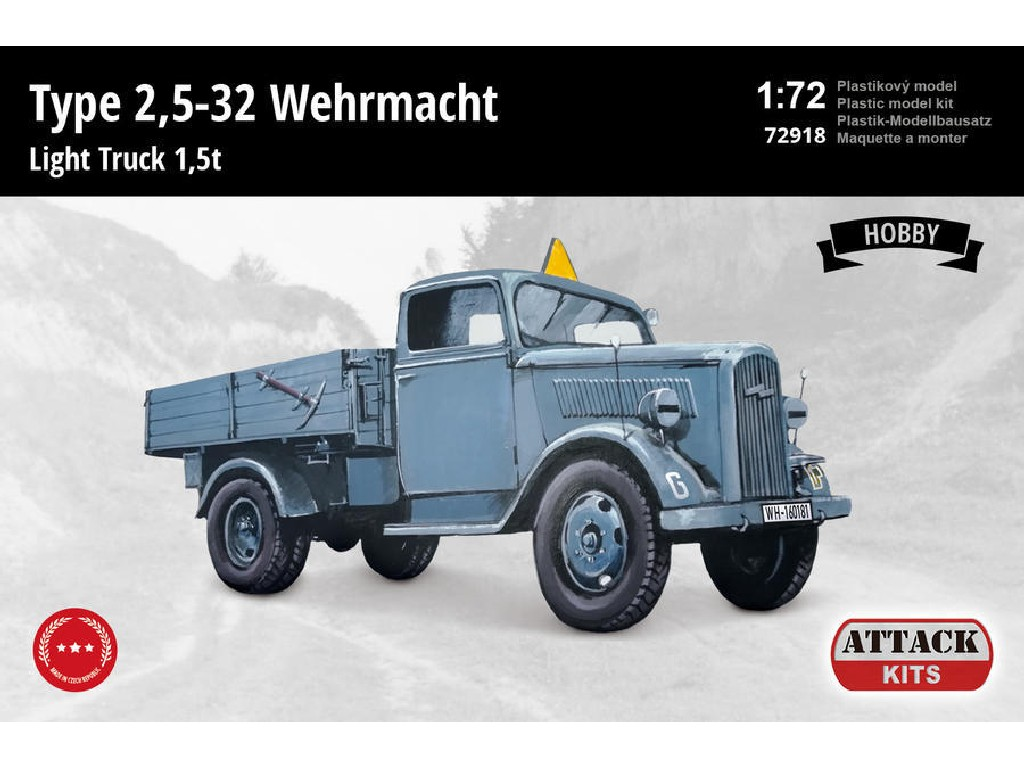 Attack Kits - 72918 - Type 2,5-32 Wehrmacht Light Truck 1,5 t (Hobby Line 2) 1:72