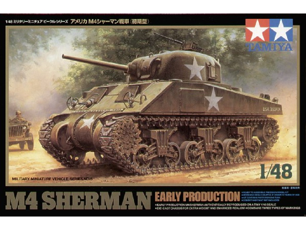 M4 Sherman Early Production 1/48