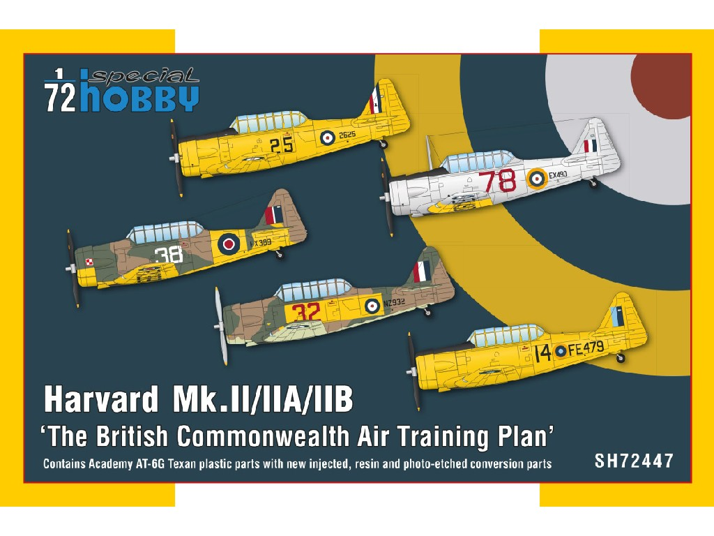 1/72 Harvard Mk.II/IIA/IIB 'The British Commonwealth Air Training Plan' - Special Hobby