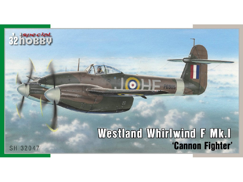 1/32 Westland Whirlwind Mk.I Cannon Fighter - Special Hobby
