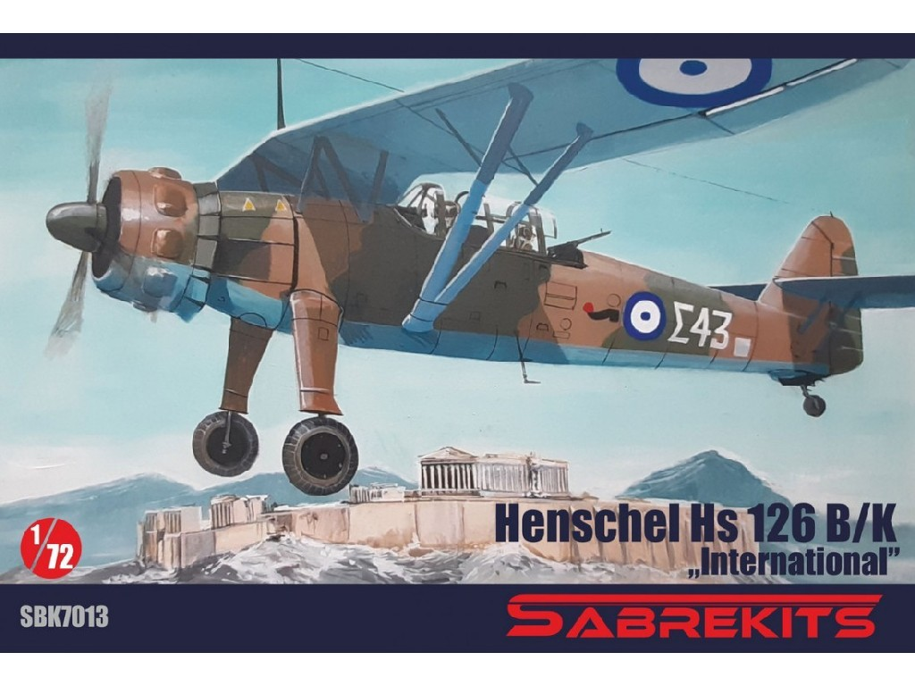 "1/72 Hs 126 ""International""- Sabre Kits"