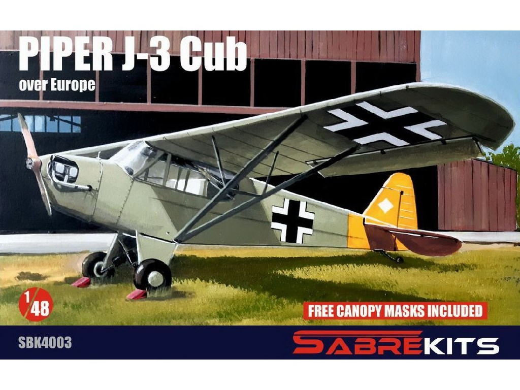 "1/48 Piper J-3 Cub ""Over Europe""- Sabre Kits"