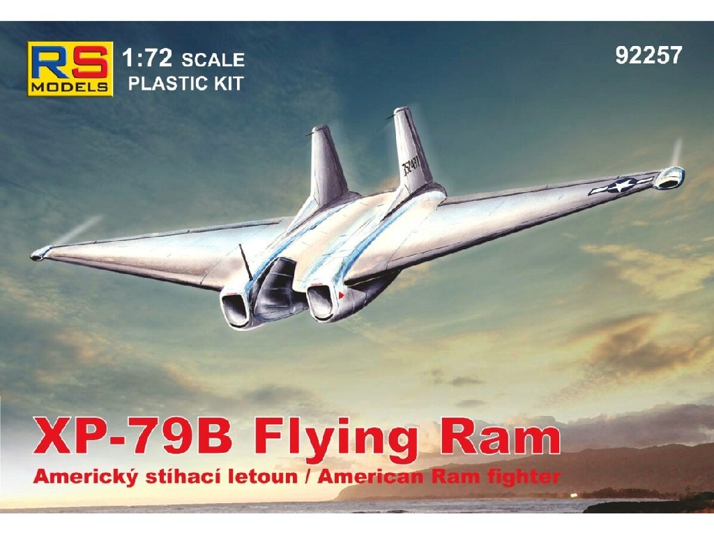 1/72 XP-79B Flying Ram
